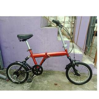 X-ACTION FOLDING BIKE (FREE DELIVERY AND NEGOTIABLE!)