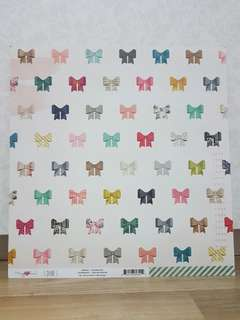Maggie Holmes 'Shine: Charming' Scrapbooking Paper