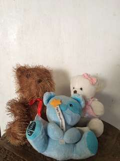Assorted stuff toys