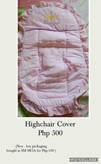 Princess High Chair Cover