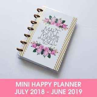 2018 - 2019 Mini Happy Planner® - Magic Blooms
