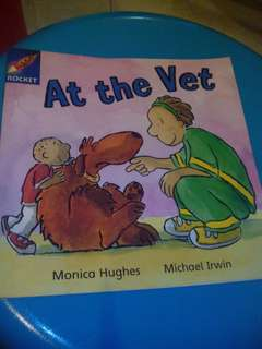 At the vet book