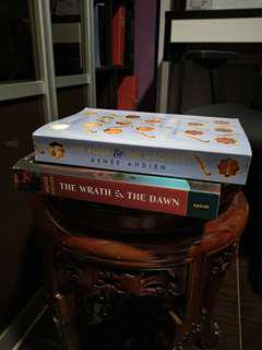 Renee Ahdieh The Wrath and the Dawn, The rose and the dagger