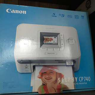 (Problem) Canon Selphy CP740 Compact Photo Printer