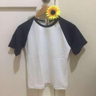 Dark blue sleeved shirt