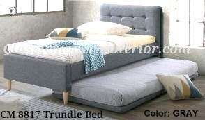 Brand new Single bed with Trundle Cm8817