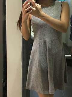 Grey elegant dress (work/casual)