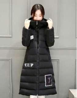 Womens Black Winter Coat