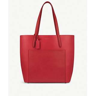 SMYTHSON Panama North South leather tote bag