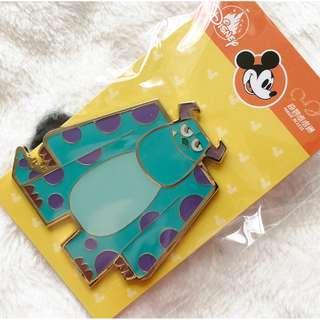 香港迪士尼 - 奇妙處處通紀念襟章 花蛋 徽章 怪獸公司 毛毛 Disney Magic Access Limited pin (Sulley)