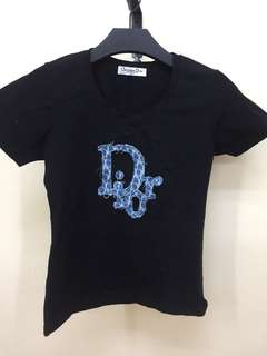 🆓🛵 Authentic Christian Dior tee