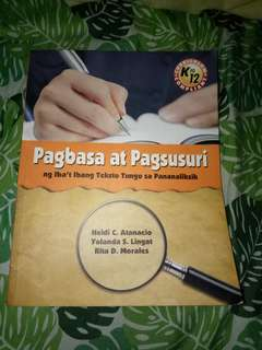 3 Books for Gr. 11 ABM Senior High School