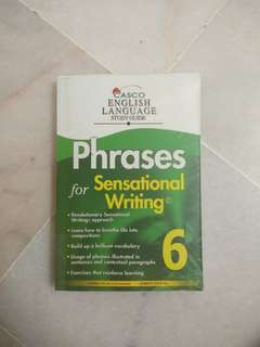 Phrases for Sensational Writing by Casco