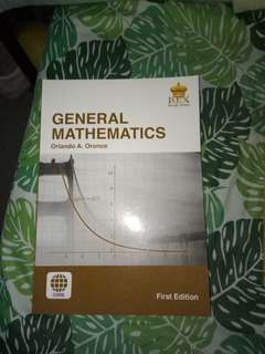 General Mathematics for Senior High School