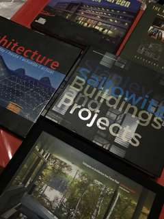 ARCHITECTURE BOOKS FOR SALE