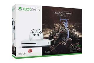 Xbox One S Shadow of War BUBDLE