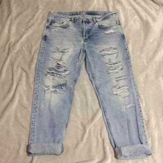 H&M hw boyfriend jeans