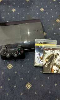 PS3 & 2 Complimentary Games.
