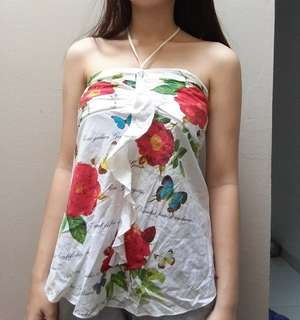 Flower White Top