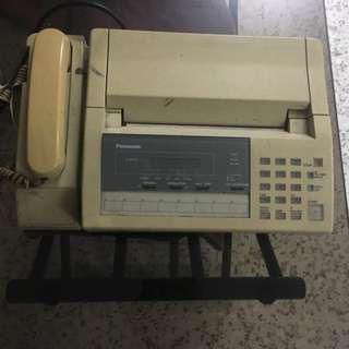 Old Panasonic Fax Machine for Antique Keepsake