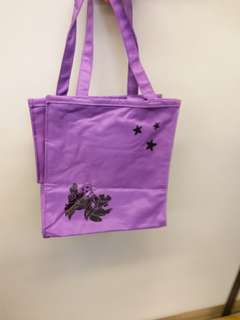 史迪仔紫色索袋