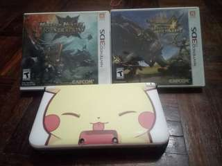 2nd 3DS XL in good condition.