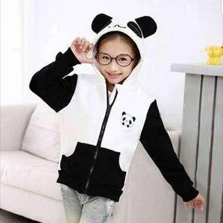 Hoodie Kids Panda Jacket - COD