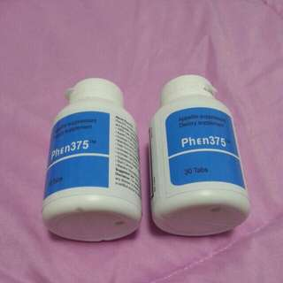 PHEN375 PHEN375 P375 - UK MADE -FRESH -EXPIRE 2020- CURB DIET & FOOD INTAKE - MAKE YOU SLIM - ENERGY BOOSTER