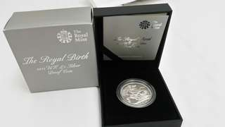 2013 St George & The Dragon 5 pound silver proof coin