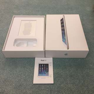 iPad Air box (16Gb)