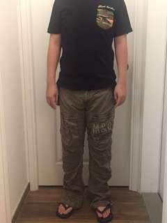 Bauhaus men's cargo pants 男裝長褲
