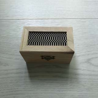 Trinket Wooden Box