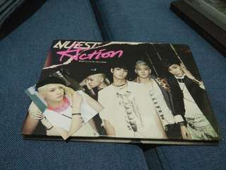 [QUIT SALE] NU'EST ACTION ALBUM