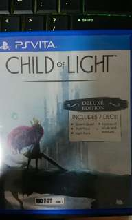 PSV game Child of Light