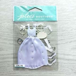 Bride themed Embellishments