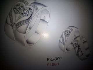Couple Ring (Real Silver)