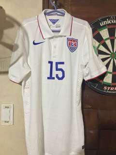 Nike Team USA Football Kyle Beckerman Size XL