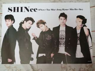 SHINee Unofficial Posters (6 pcs)