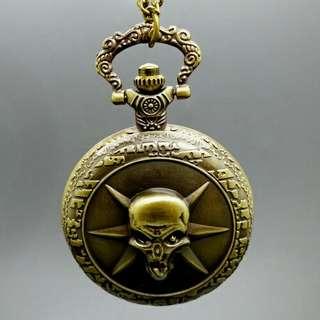 Watch pendulum Skull