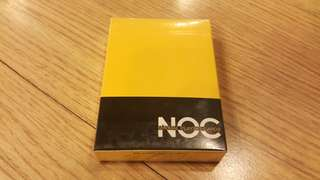 第一代NOC撲克紅黃籃紫色每盒