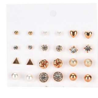 12pcs Earrings