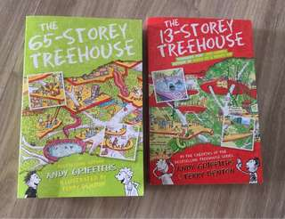 Treehouse books - 1 for $7