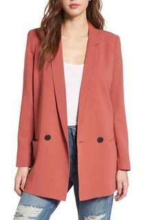 Vintage Casual Women Blazer Jacket