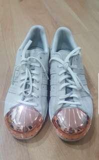Adidas Superstar Rosegold Cap US7