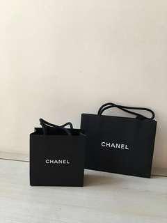 Chanel 迷你紙袋/ 香奈兒小紙袋