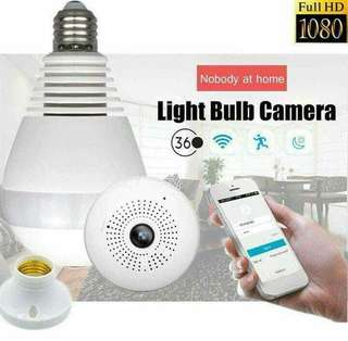 Panoramic IPbulb Camera