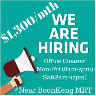 BoonKeng Office Cleaner (Full time)