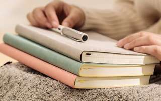 Grid Bullet Journal Notebook