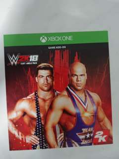 Wwe 2k18 Kurt Angle Add On Pack