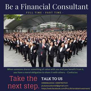 Be a Financial Advisor
